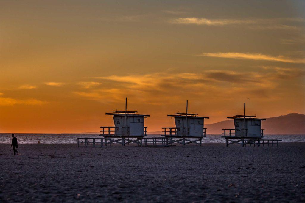 Sunset on Venice